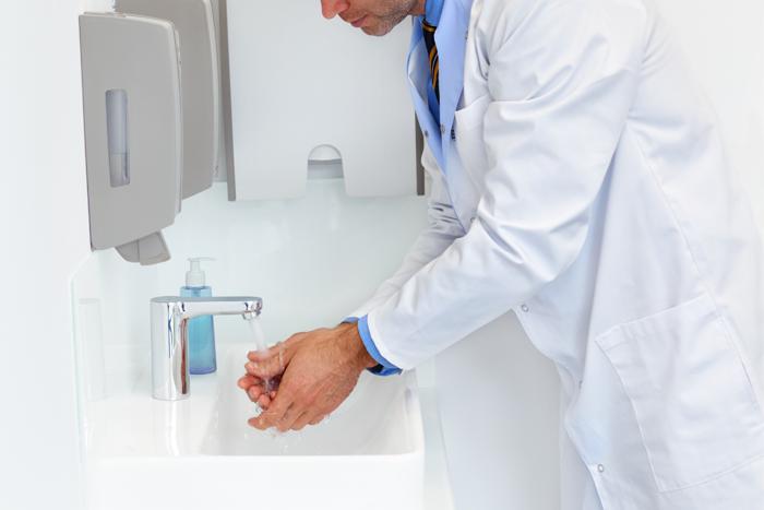 higienização das mãos saúde