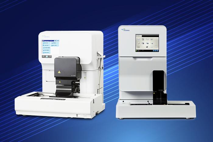equipamentos para análise de urina